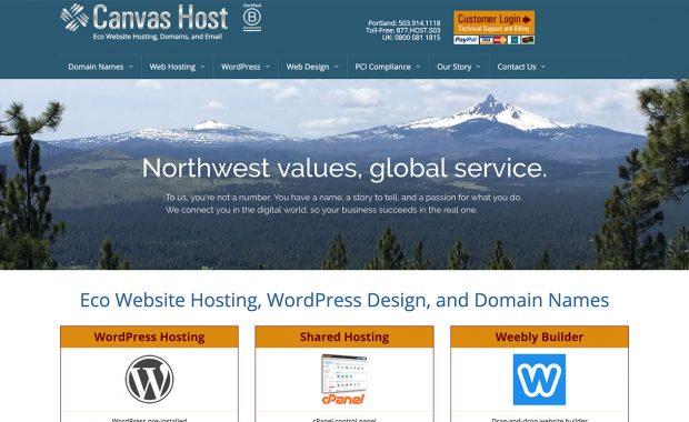 Canvas Host screenshot